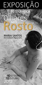 EMARP - Exposição de Maria Santos - set 2012 - Cartaz