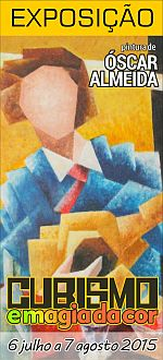 EMARP - Exposição de Oscar Almeida - jul 2015 - cartazmini
