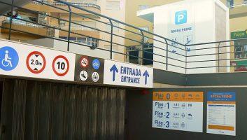 Parque de estacionamento Rocha Prime