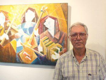 EMARP - Exposição de Oscar Almeida - jul 2015 - autor