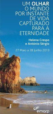 EMARP - Exposição de Helena Crespo e António Sérgio - mai 2013 - cartaz