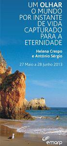 EMARP - Exposição de Helena Crespo e António Sérgio - mai 2013 - cartazmini
