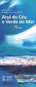 EMARP - Exposição de Brigitte Humboldt - ago 2013 - cartazmini