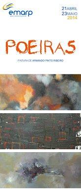EMARP - Exposição de Armando Pinto Ribeiro - abr 2014 - cartazmini