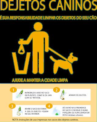 EMARP - dejetos caninos - instrucoes recolher coco saco 2017