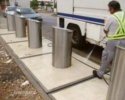 EMARP - limpeza urbana lavagem ilhas - 2017