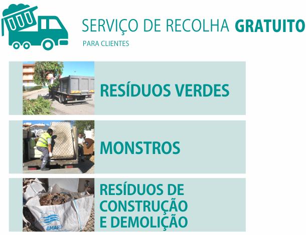 EMARP - recolha gratuita residuos - 2017