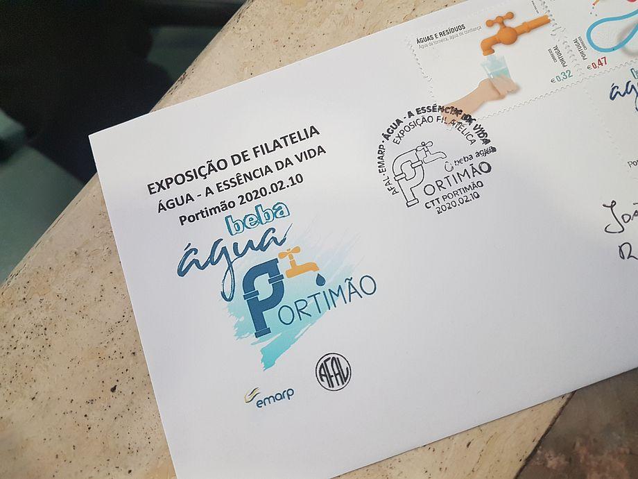 """""""Água - A essência da vida"""" pela associação filatélica do Algarve"""