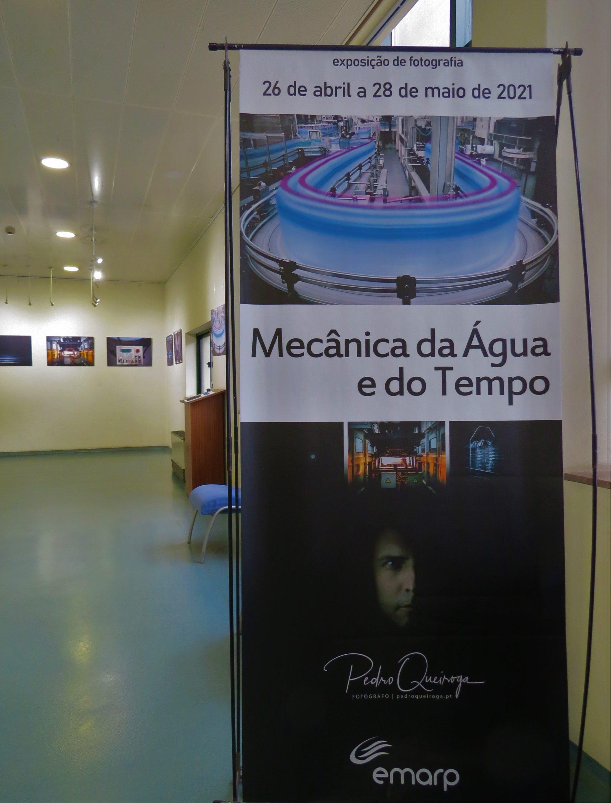 """""""Mecânica da Água e do Tempo"""" - Exposição fotografia"""